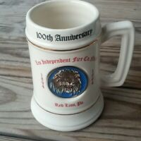 Red Lion fire department 100 yr anniversary beer stein 1994