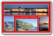 FRIDGE MAGNET - LLANDUDNO - Large - Wales TOURIST