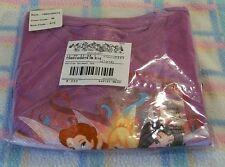 New Disney Tinkerbell Silvermist Rosetta Fairies Girls T-Shirt Large(10/12)