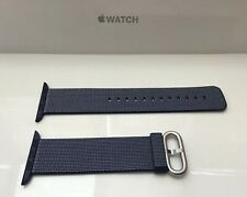 GENUINE APPLE WATCH WOVEN NYLON BAND 42mm /44mm  MIDNIGHT BLUE
