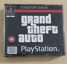 GTA GRAND THEFT AUTO COLLECTOR'S EDITION PS1 VERSIONE PAL UK SONY PLAYSTATION 1