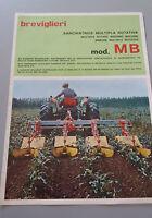 Brochure Leaflet 2 Ante Years 70 Ditta Breviglieri - Patio Weeder Multi