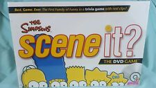 Scene IT The Simpsons DVD Game 2009 *NEW SEALED**
