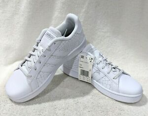 adidas Grand Court K White/Silver Girl's Sneakers - Assorted Sizes NWB FW4575