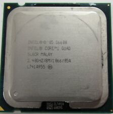 Intel 2 QUAD Q6600 Core 2.40GHz Socket 775 Quad Core CPU SLACR