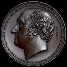 Charles Canning, 1st Earl Of Canning. Large Bronze Medal, 1827. 62mm.