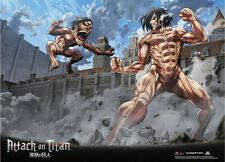 Attack on Titan Eren Titan Wall Scroll Poster Anime Manga NEW