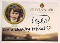 "2019 Outlander Season 3 Autograph CLARK BUTLER as WILLIE Auto ""Stinking Papist"""