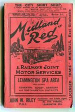 More details for midland 'red': b.m.m.o. co ltd: leamington spa area timetable booklet: jan. 1932