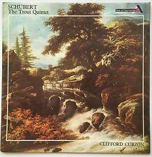 "CURZON VIENNA OCTET SCHUBERT The ""Trout"" Quintet U.K. Decca AOD VG+/VG++"