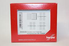 Herpa 053228 per canalizzazioni finestra e porte per Herpa Kit di costruzione