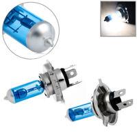 2PCS 100W White H4 Xenon Gas Halogen Headlight Light Lamp Bulbs 12V 6000K