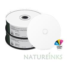 50 MediaRange CD R 48x Blank CD-R Discs Printable full face 100 min 900MB MR243