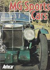MG Sports Cars 1928-80 MGA MGB MGC Midget M KN Magnette Magna P T TB TC TD J2 +