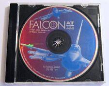 Falcon A.T. Classic 1988 DOS PC F-16 Flight Simulation Vintage Game & Jewel Case