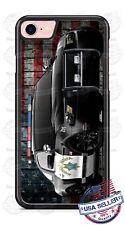 Highway Patrol Police Car American Flag Phone Case fits iPhone Samsung LG etc