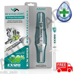 XADO EX120 Fuel Pumps Revitalizant treatment for all types of fuel equipment