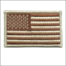 AMERICAN FLAG DESERT EMBROIDERED PATCH USA US UNITED STATES MILITARY