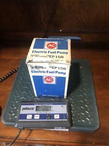 AC Delco Fuel Pump # EP158 GM 25115224 Chevrolet GMC Diesel NOS