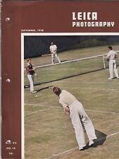 Leica Photography Mag Employ Your Camera September 1938 082419nonr