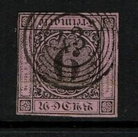 Baden SC# 4a, Used, small center thin, see notes - S3619