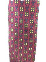 Hermes Paris Classic Silk 7011 TA Necktie Red Green Yellow Tie I