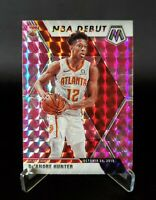 2019-20 Panini MOSAIC - DeANDRE HUNTER - NBA DEBUT PINK CAMO ROOKIE RC #266 🔥