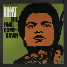 "GRANT GREEN: the final comedown soundtrack BLUE NOTE 12"" LP 33 RPM"