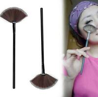 Fan Shape Makeup Cosmetic Brush Blending Highlighter Contour Face Powder High、UK