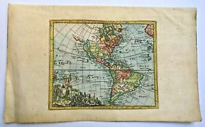 AMERICA CALIFORNIA AS AN ISLAND 1692 JACQUES PEETERS UNUSUAL ANTIQUE MAP