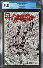 Amazing Spider-Man (2018 6th Series) #1 Larsen Sketch Variant CGC 9.8 1:2000