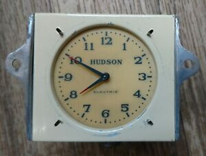 1936 Hudson Clock Excellent Fully Reconditioned! Deluxe, Custom