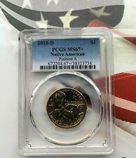 2018-D $1 Native American Sacagawea Dollar Position A PCGS MS67+     BEST GRADE