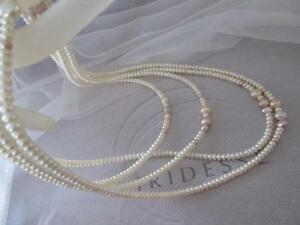 "Tiffany & Co. Iridesse Cream White~ Pink ~Lavender~Peach~Pearl Necklace 78"""