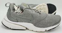 Nike Presto Fly SE Fleece Trainers 910570-004 Dust Grey/White UK6/US8.5/EU40
