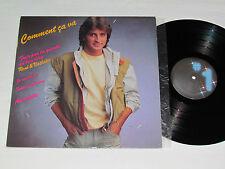 RENE SIMARD Comment Ca Va LP 1984 Disques #1 NO-1837 VG+/VG Quebec Vinyl René