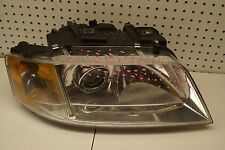 1998 1999 2000 2001 AUDI A6 RIGHT SIDE HALOGEN HEADLIGHT OEM USED