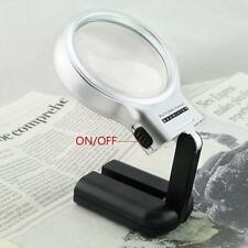 For Reading Giant Large Hands Free Magnifying Glass With Light LED Magnifier