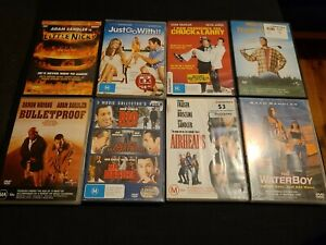 DVD Bulk Lot - 10x Adam Sandler Movies