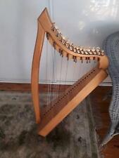 Paraguayan 26 string lever harp