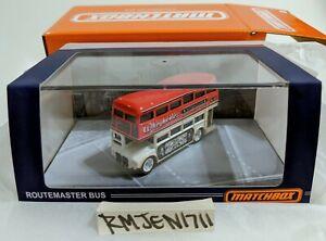 Matchbox 2021 Premium Wheyhemes Double Decker Routemaster Bus IN HAND ***READ***