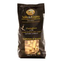 Tortiglioni - Pasta di Semola di grano duro 100% siciliano - Valle del Grano