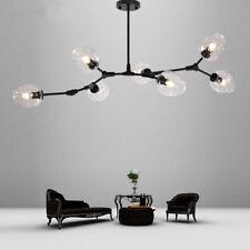 Black Chandelier Lighting Kitchen Lamp Bar Ceiling Lights Glass Pendant Light