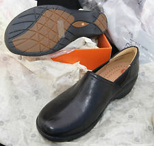 UN.LORY Clarks NEW loafers unstructured 9.5 M 9 1/2 black shoes UNLORY un lory