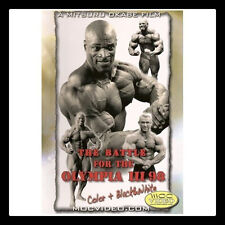 BATTLE FOR THE OLYMPIA 1998 DVD Bodybuilding Mr Olympia IFBB NPC Ronnie Coleman