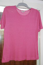 Women's top - in rose colour -  Berkertex - size 20