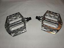 """BMX-Pedale 1/2"""" BMX Pedalen Aluminium Silber  neu 12,30 mm Gewinde  06824"""