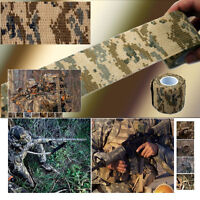 5PC X New 5CMx4.5M Desert Camouflage Outdoor Hunting Camping Stealth Tape