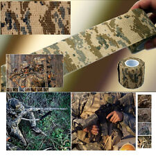 New 5CMx4.5M Desert Camouflage Outdoor Hunting Camping Stealth Tape Waterproof
