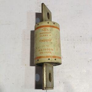 A4J600N Gould Shawmut Amp-Trap Current-Limiting Class J Fuse 600A 600V
